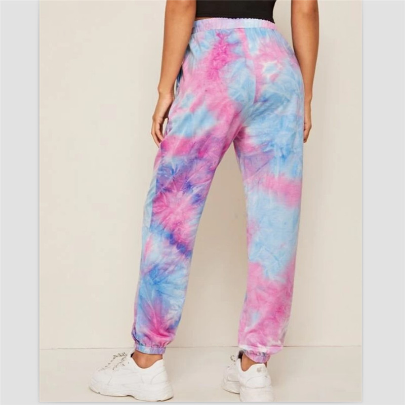 Ultimate SaleTrousers Pants Tie-Dye Hip-Hop Trend Summer Women Workout Hodmewear Casual Dancing-Show