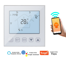 Tuya Thermostat WiFi Floor Heating Temperature Controller Smart Room Thermostat Electric Voice Control Support Alexa Google APP
