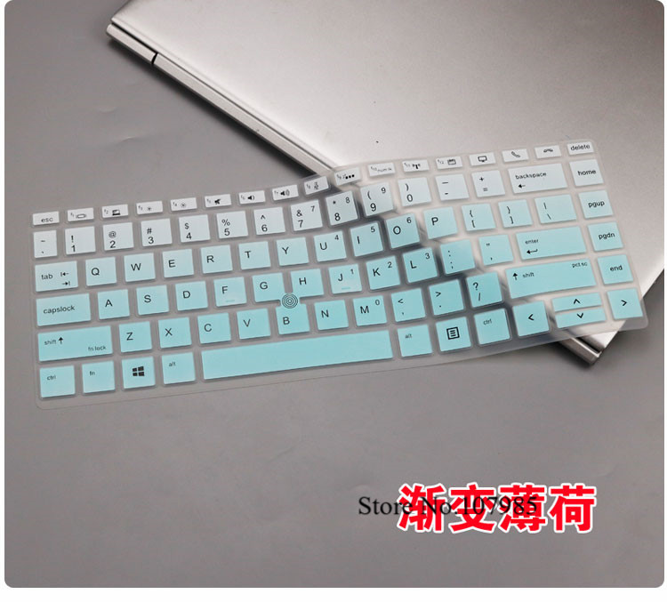 """Clear TPU Keyboard Protector for 15.6/"""" HP ZBook Studio G3 G4 Mobile Workstation"""