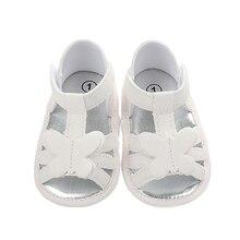 АА Детская обувь для девочек плед сандалии нескользящая пешеходная мягкой подошве дырочку подарок на день рождения бабочка тапки