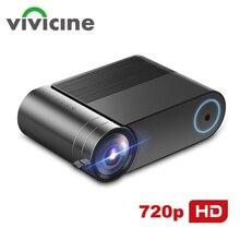 VIVICINE 720p HD светодиодный проектор, опция Android 9,0 портативный HDMI USB 1080p домашний кинотеатр Proyector Bluetooth wifi мини светодиодный проектор