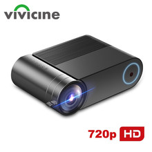 VIVICINE 720p projektor LED hd, opcja Android 9.0 przenośny HDMI USB 1080p projektor do kina domowego Bluetooth WIFI Mini LED Beamer(China)