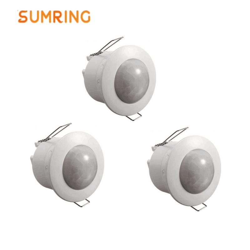 Small PIR Motion Sensor Switch PIR Presence Detector Indoor Led Light Motion Sensor Switch