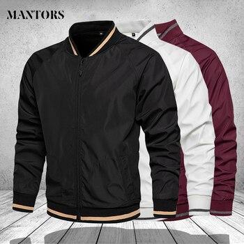 Mens Fashion Jackets and Coats Zipper Men's Windbreaker Bomber Jacket Pilot Coat Men Clothing Plus Size Fashion Cargo Outerwear
