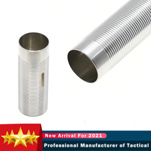 Цилиндр из нержавеющей стали для плазменной полировки 100% 80% для редукторов Airsoft AEG, Гладкие внутренние стены, полный поток, аксессуары для пе...