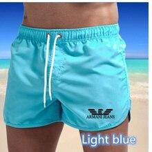 Новинка 2021, мужские спортивные шорты для бега, быстросохнущие сетчатые тренировочные шорты, одежда для спортзала, мужские футбольные тенни...