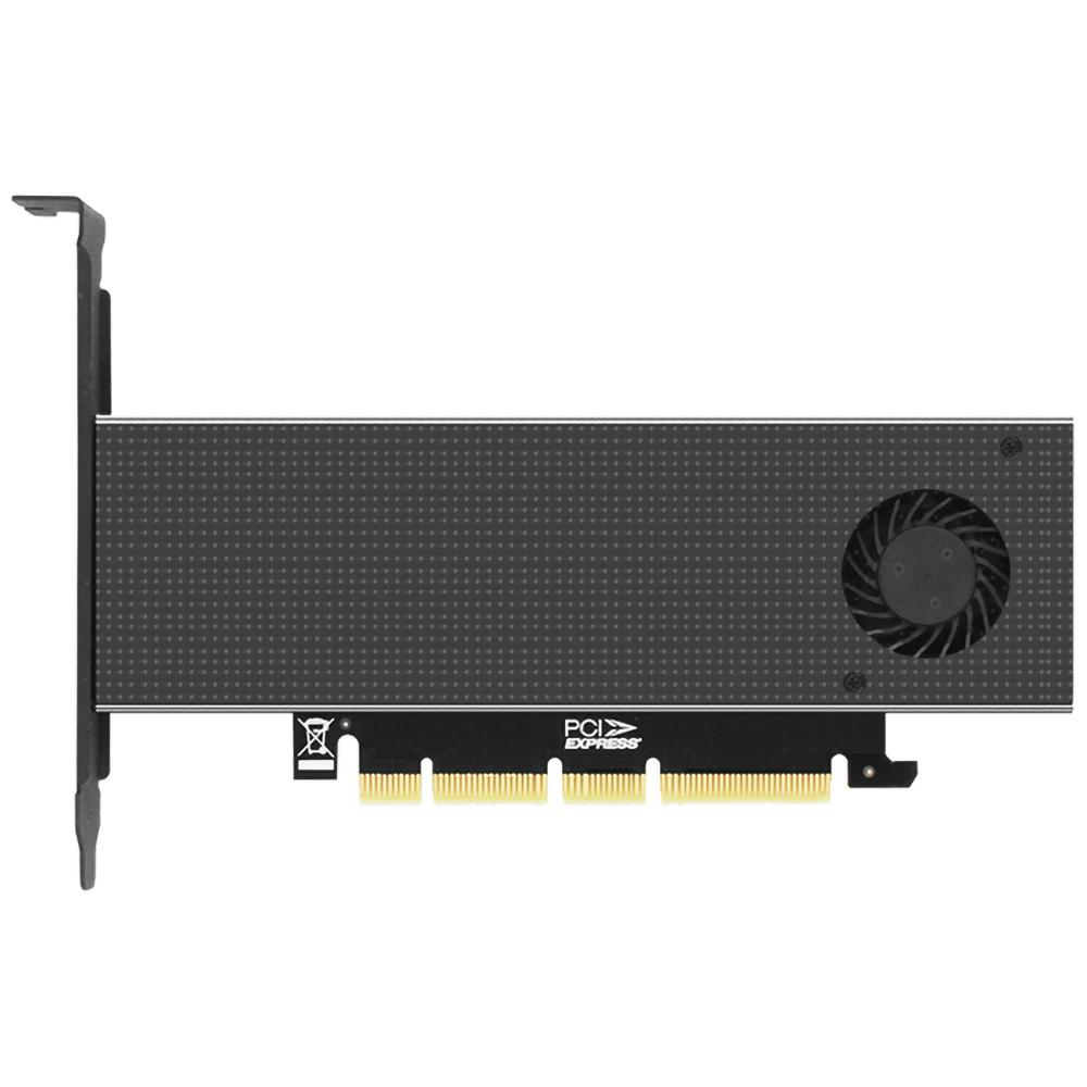 JEYI SK8-NEW NVME Expansion Card M.2 NVME Radiator NVME TO PCIE3.0 GEN3 M.3(SK8+N110 Heat Sink)(new SK8-half Height)