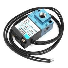 Válvula Solenoide de Control electrónico, válvula solenoide eléctrica de acero fundido DC12V 35A ACA DDAA 1BA