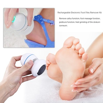 Electric Foot File Grinder Dead Skin Callus Remover for Foot Pedicure Tools Feet Care for