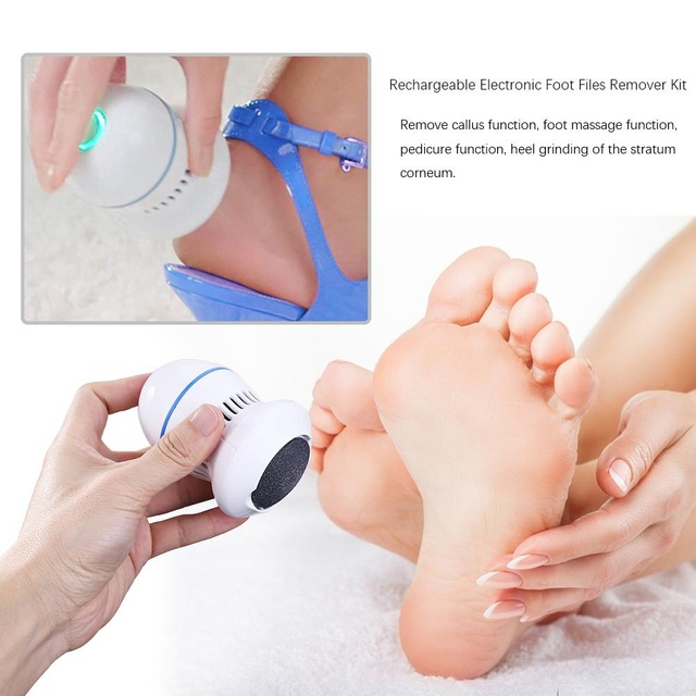 Electric Foot File Grinder Dead Skin Callus Remover for Foot Pedicure Tools Feet Care for Hard