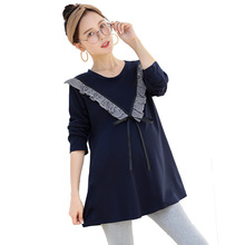 Maternity Clothes for Pregnant Women Clothing Spring Autumn Long Sleeve Loose Casual Blouses for Pregnant Women Shirts Pregnancy