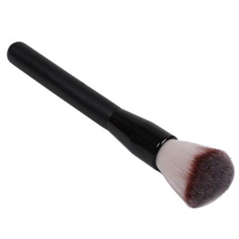 Высокое качество нейлоновая Кисть для макияжа деревянная ручка кисти для макияжа Базовая кисть для теней Косметика Pinceis De Maquiagem 1 шт
