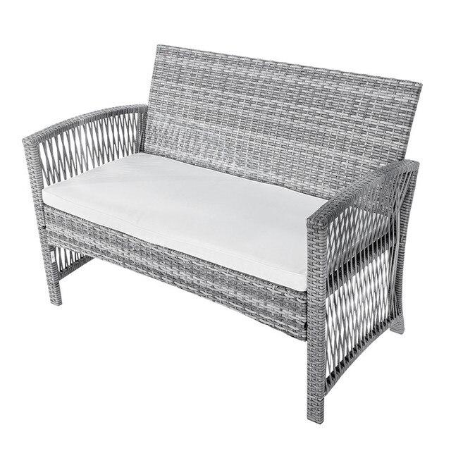 8Pcs Outdoor Garden Furniture Set 6