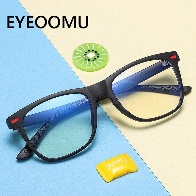 Фото детские оптические очки анти синий светильник для детей близорукость