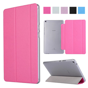 Luxury Tablet Case For Huawei Mediapad T3 8.0 Stand Flip Leather Cover Smart Case For Honor Play Pad 2 8.0 inch KOB-L09 KOB-W09(China)