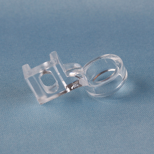 CLEAR RULER FOOT Frame Quilting Embroidery Low Shank For Singer Pfaff Viking Brother EN-01P-L(China)