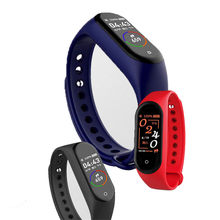 XANES M4S 0.96'' Touch Screen Waterproof Smart Watch Blood Pressure Fitness Bracelet Mi Band Fitness Heart Rate Bracelet Sports(China)