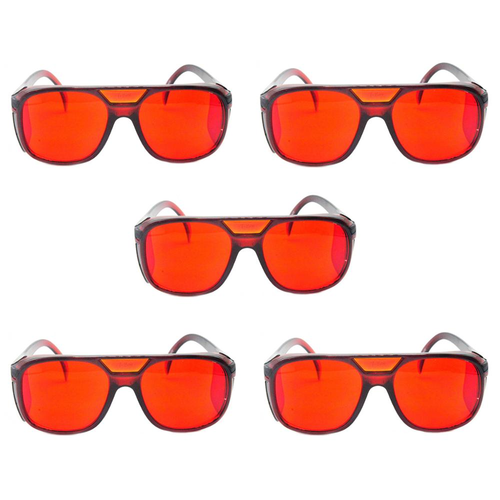 5pcs Protective Wear for 532nm Green Diode Laser Protection Glasses & Goggles Eyewear w/Box