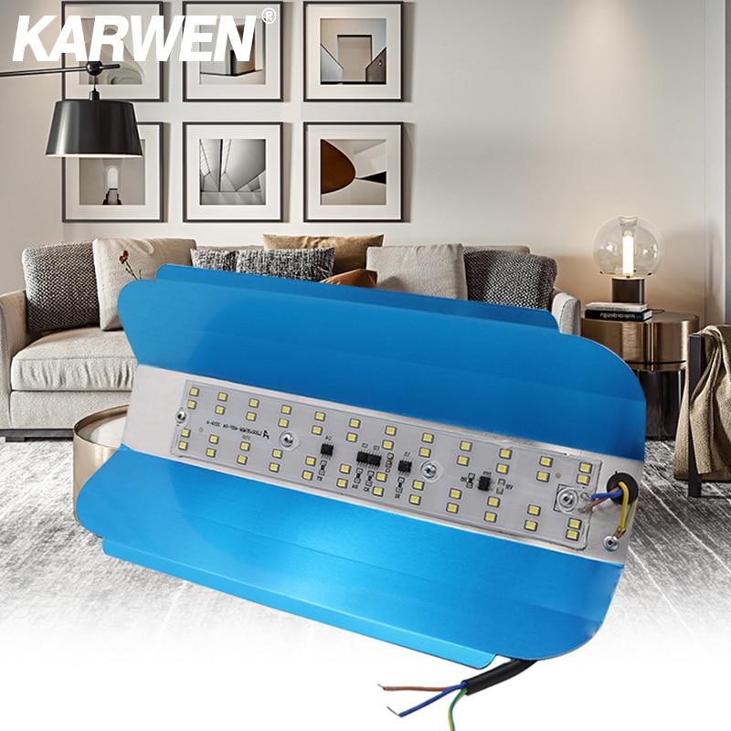 50W 100W LED LODINE TUNGSTEN 220V LED Flood Light Refletor LED Floodlight Outdoor Lighting Gargen Lamp LED Spotlight