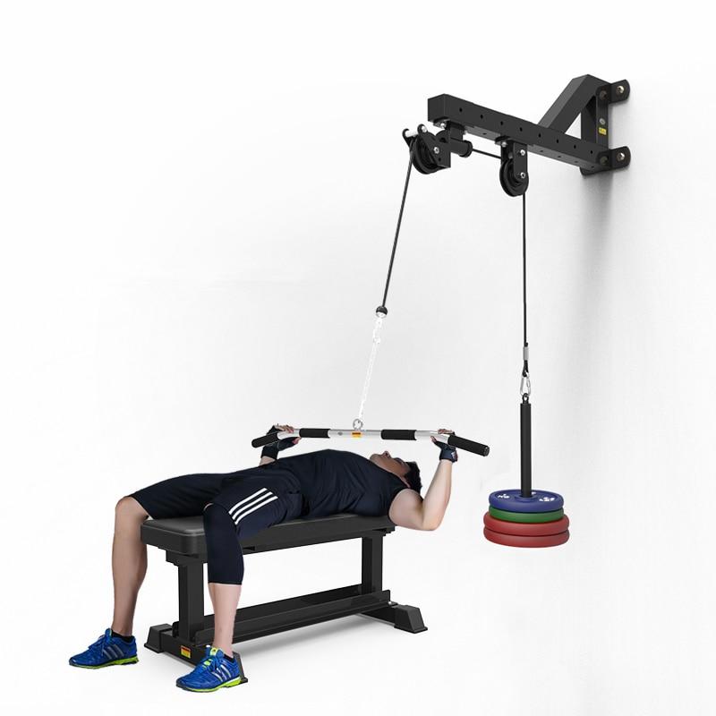 FOOING Unterarm Handgelenk Trainer Armmuskulatur Training Seil Seilzug System Arm Bizeps Trizeps Blaster Hand Festigkeit Trainning Home Gym Workout Ausr/üstung