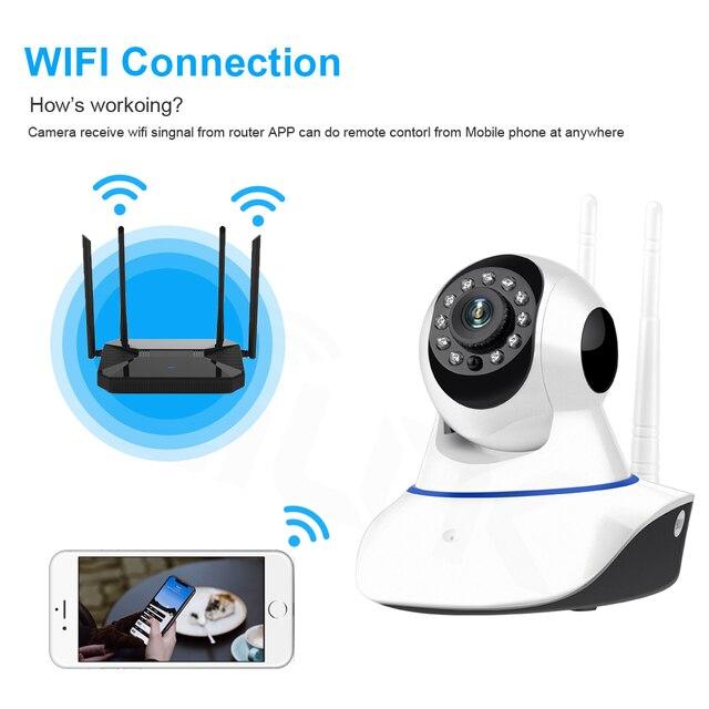 Yoosee 720P 1080P WIFI Della Macchina Fotografica di Sicurezza Domestica HD Pan Tilt IP Camera Wireless Two Way Baby Monitor Audio CCTV IP Cam 64G SD P2P 4