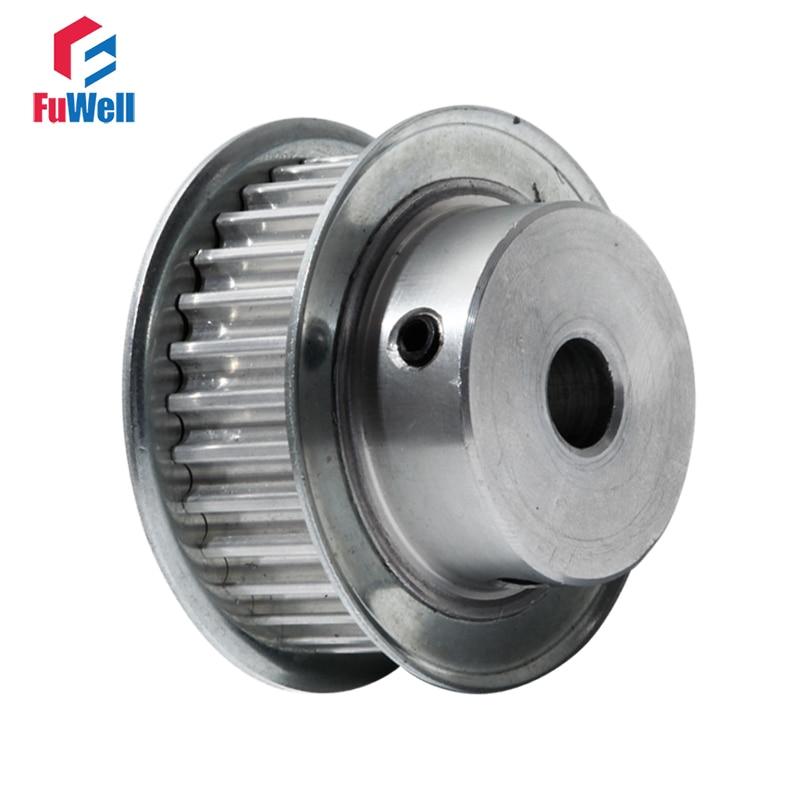 5M HTD5M Aluminum Timing Belt Pulley 24 Teeth 20mm Bore 16mm width Stepper Motor