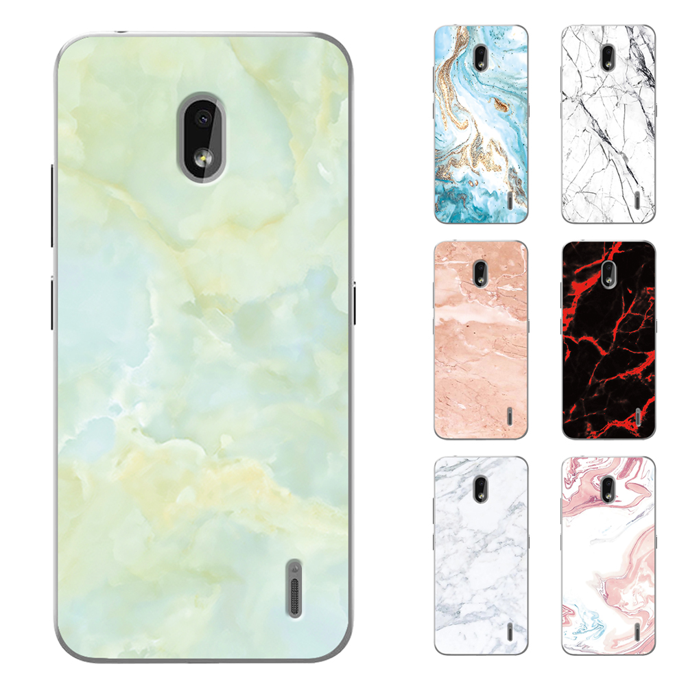 Luxury Marble Silicone Case For <font><b>Nokia</b></font> 7.2 Case Soft TPU Back For <font><b>Nokia</b></font> 6.2 2.2 <font><b>4.2</b></font> 3.2 <font><b>Phone</b></font> Case Cover image