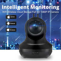 KERUI HD1080P caméra IP WiFi moniteur de Surveillance de sécurité à domicile sans fil IR moniteur d'alarme de détection de mouvement Audio bidirectionnel intelligent