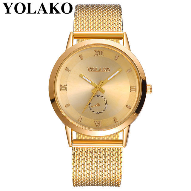 Shopee Hot Lady Lucky To Watch The New 2020 Quartz Watch Hot Style Fashion Pvc Mesh Belt Watches