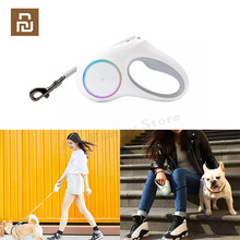 YouPin PETKIT Retractable Pet Leash Dog Traction Rope Flexible Ring Shape 2.6m with Rechargeable LED Night Light