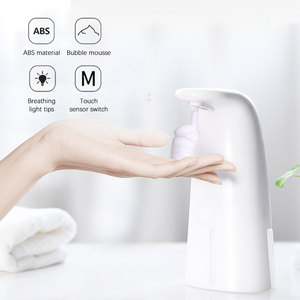 250ML Child Baby Soap Dispenser Automatic Induction Soap Dispenser Foam Hotel Hand Sanitizer Wall-mounted Washing Mobile Phone