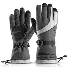 Snowboard Gloves SK03 Winter Mittens Touch-Screen Skiing-Fleece Motorcycle Warm Waterproof