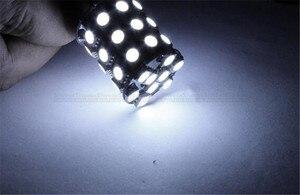 Image 5 - 2 Pcs 1156 BA15S 1157 BAY15D P21W 36 SMD 5050 LED Brake Side Turn Signal Lights Rear Backup Reverse White Bulbs DC 12V