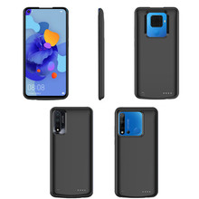 6500mAh Backup Power Bank Case For Huawei Nova 5i Pro External Battery Charging 5