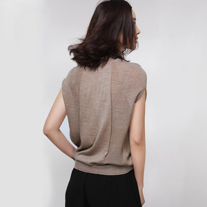 Image 4 - XITAO Wool Soft Elastic Sweaters Pullovers Turtleneck Short Sleeve Autumn Women Cashmere Sweater Female Brand Jumpers HHB 002