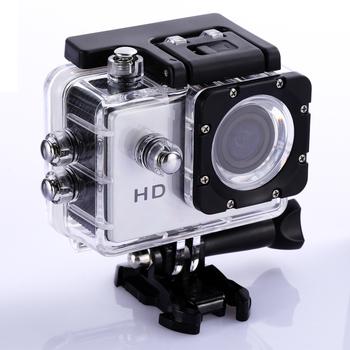 Full HD 1080P podwodna wodoodporna kamera akcji kamera DVR kamera sportowa DV kamery wideo kamera sportowa dla Go Car HD Cam Pro tanie i dobre opinie alloet Samsung serii Ambarella A7 (1080 P 60FPS) NONE O 12MP CN (pochodzenie) DV DVR Waterproof Sports Action Camera 2 0 inch