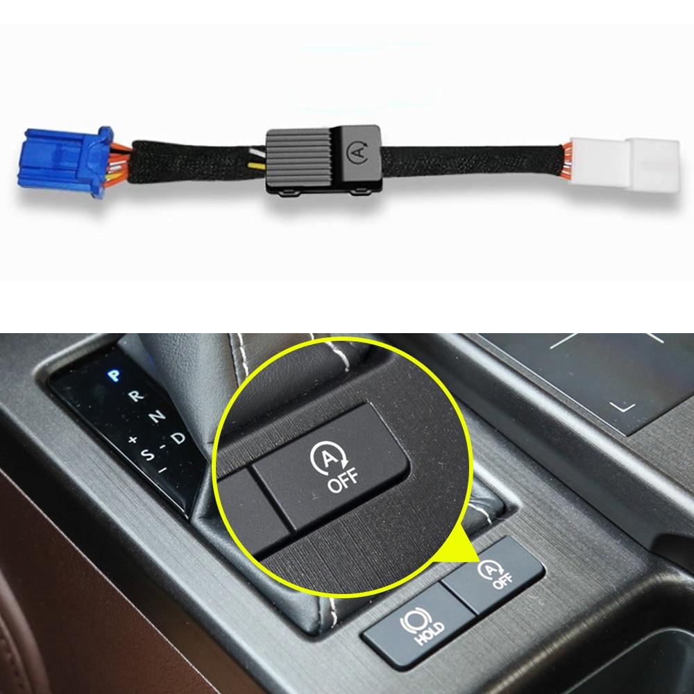 For Lexus ES XZ10 7th 2018-2020 Car Automatic Stop Start Engine System Off Device Intelligent Control Sensor Smart Stop Cancel