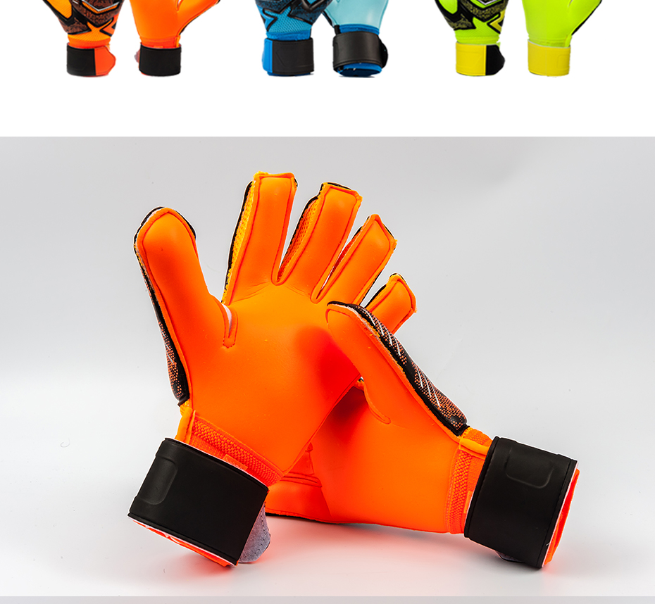 Professional Goalkeeper Gloves With Finger Protection 9