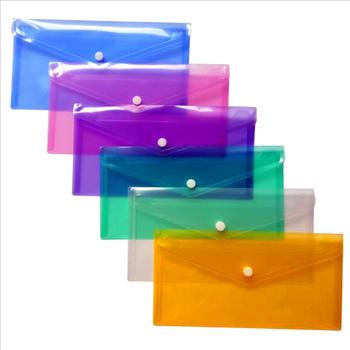 A6 wyczyść aktówka teczka papierowa przenośna piśmiennicze szkolne etui biurowe PP 6 kolorów dostępne tanie i dobre opinie JESJELIU Torba na dokumenty 250X172mm WJGZAF1 Briefcase Filing Products Document Bag Document storage bag AS the picture show