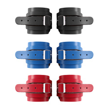Weightlifting Bracer Cowhide Glove Wrist Straps Dumbbell Fitness Bodybuilding Wristbands Gym Equipment