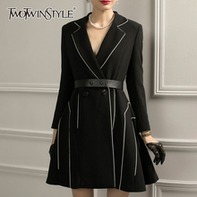 Hit taille col femme