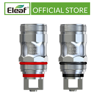 5 pz/lotto Eleaf originale EC M/EC N bobina della sostituzione della testa 0.15ohm adatta per la testa elettronica della bobina della sigaretta di iJust ECM