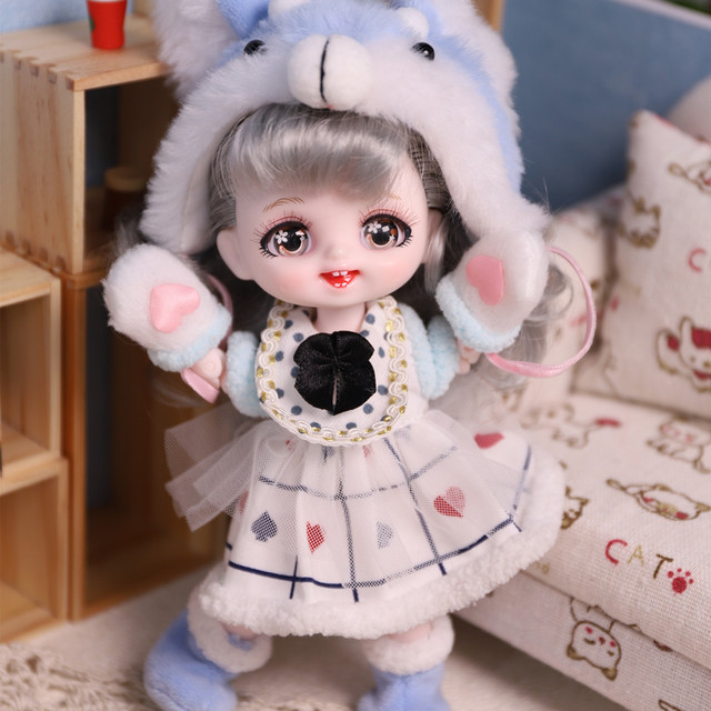 DBS DREAM FAIRY Doll 1/8 BJD anime girls Name by Pokect mechanical joint Body With makeup ob11 SD 5