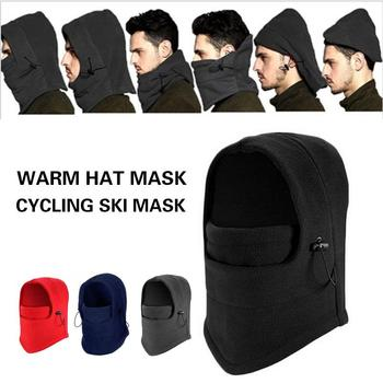 Cossack Cap Snow Cap Earflap Fur Women Mask Winter Hat Ski Hat Trapper Sport Equipment Riding Warm image