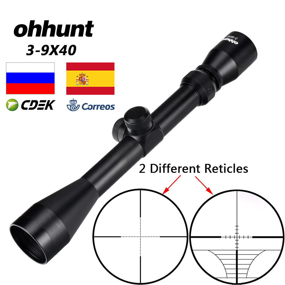 Ohhunt Reticle Riflescope Wire-Rangefinder Crossbow Optical-Sights Mil-Dot Hunting-Air title=