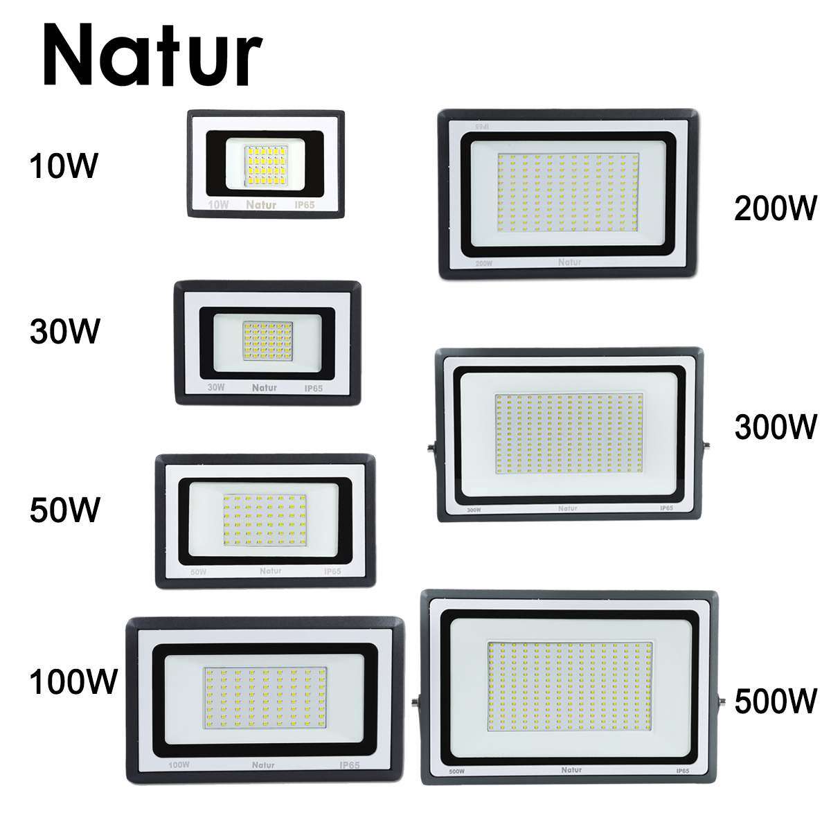 10W 30W 50W 100W 200W 300W 500W Led Spotlight 220V Led Floodlight Ip65 Waterproof Of Flood Light Outdoor Led Spotlight Reflector