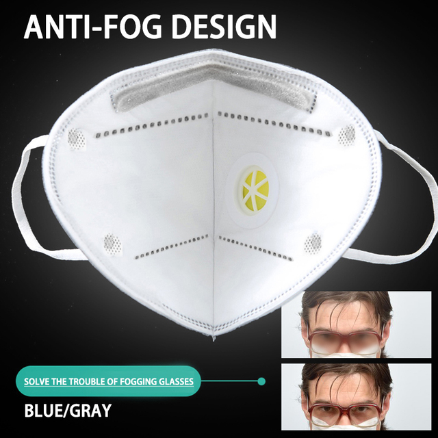 50pcs 5 Layers Antivirus KN95 Mask Flu Anti Infection N95 Masks Particle Respirator PM 2.5 Protective Cover Safety Same As ffp3 2