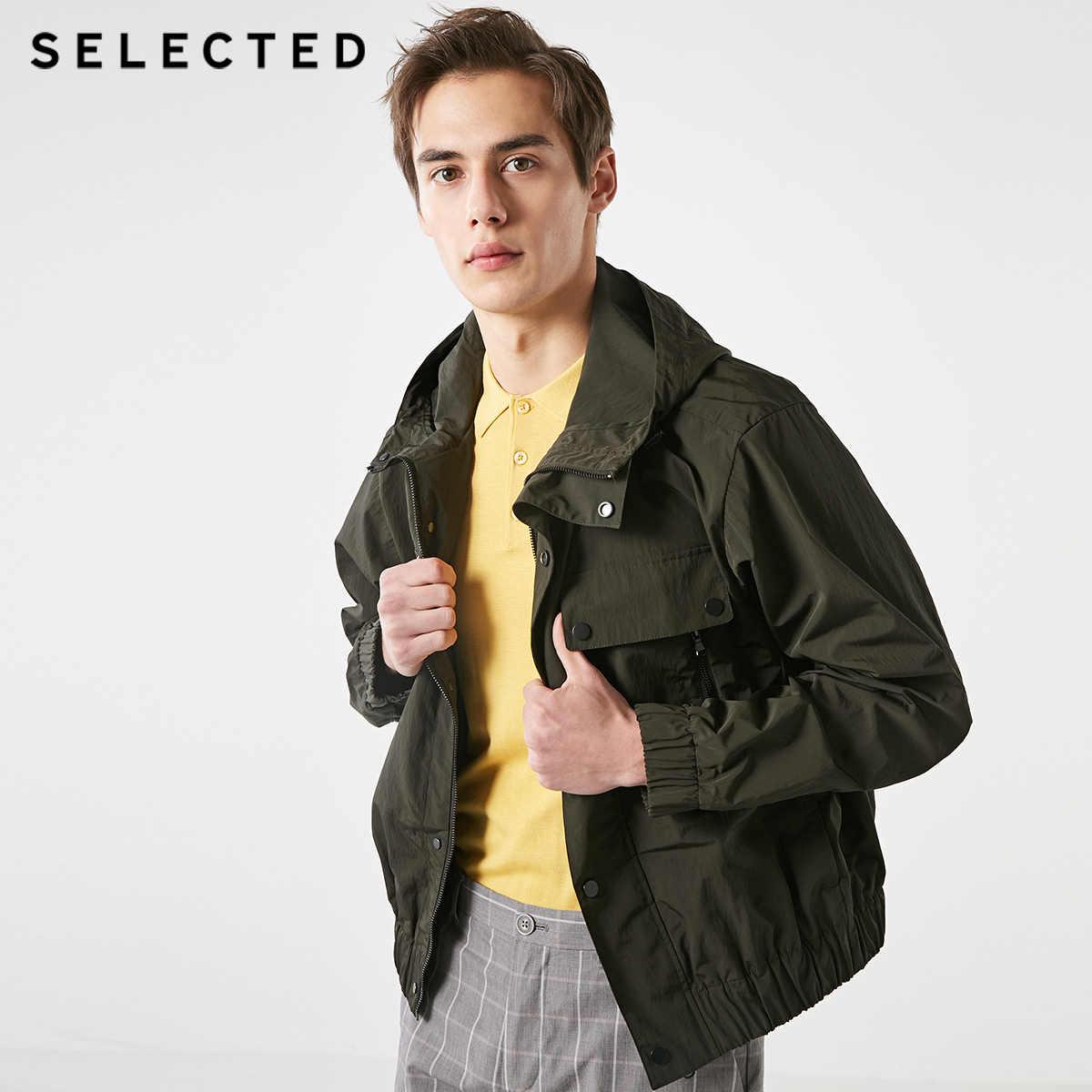 選択春無地カラー作業服フード付きビジネスカジュアル男性のジャケット s | 4191OM540