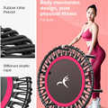 40 Inch Fitness Trampoline Rebounder Adults Trampoline Fitness Dedicated Elastic Rope Home Gym Exercise Sports Tool