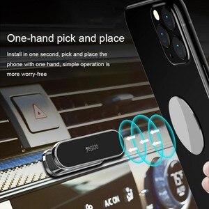 Автомобильный мини-держатель Yesido C55, магнитный держатель для телефона с GPS, крепление на приборную панель для IPhone, Samsung, Xiaomi, настенный металл...